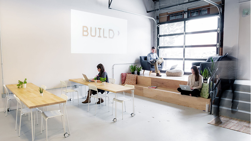 Available workspace at BUILD in July 2020