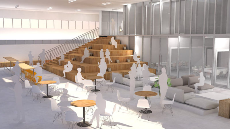 From abandoned grocery store to innovation hub